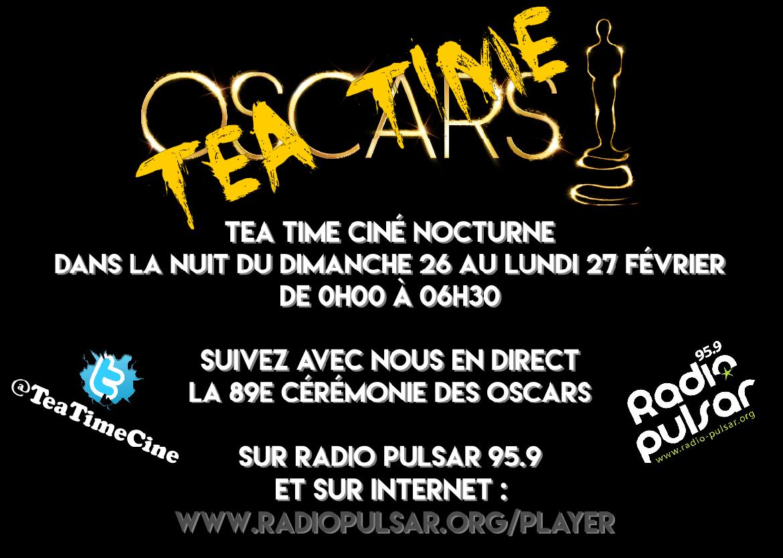 Suivez la 89éme cérémonie en direct avec Tea Time Ciné !