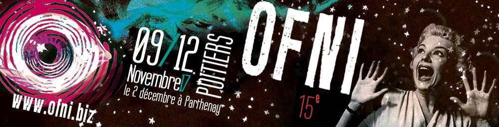bannière de la quinzième édition du festival OFNI