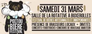 affiche et détails du poitou bière festival