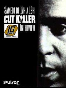 affiche de l'émission 16 rimes avec Cutkiller