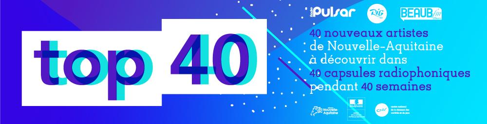 bannière du TOP 40