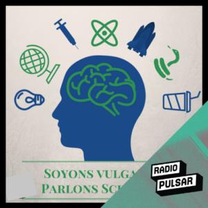 Logo de l'émission soyons vulgaires parlons sciences