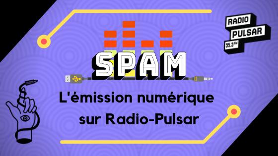 image de présentation d'article avec le logo de l'émission spam